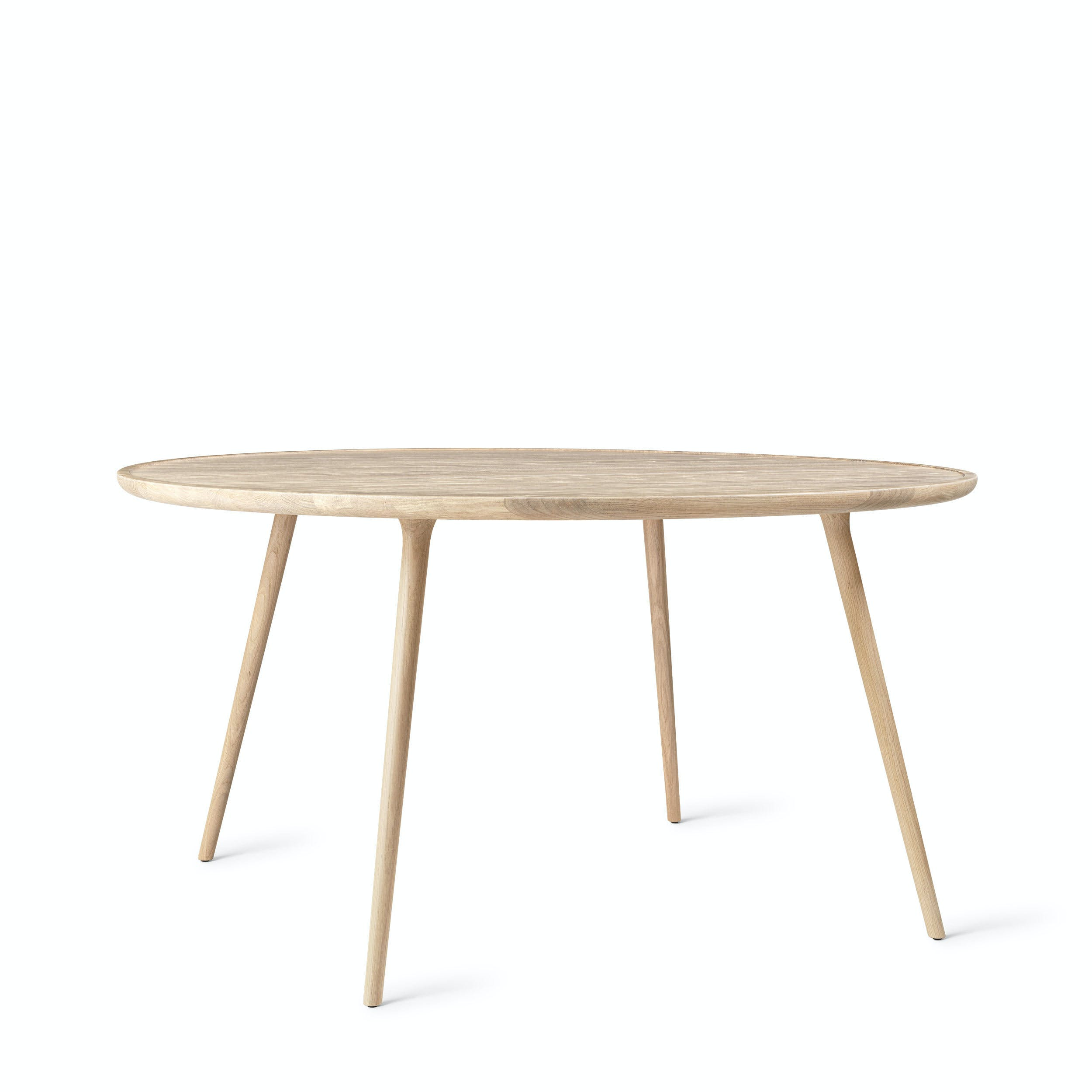 Mater Smoked Oak Accent Dining Table Haute Living
