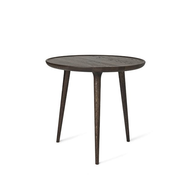 Mater Large Stained Oak Accent Coffee Table Haute Living