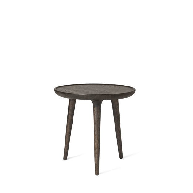 Mater Stained Oak Small Accent Coffee Table Haute Living