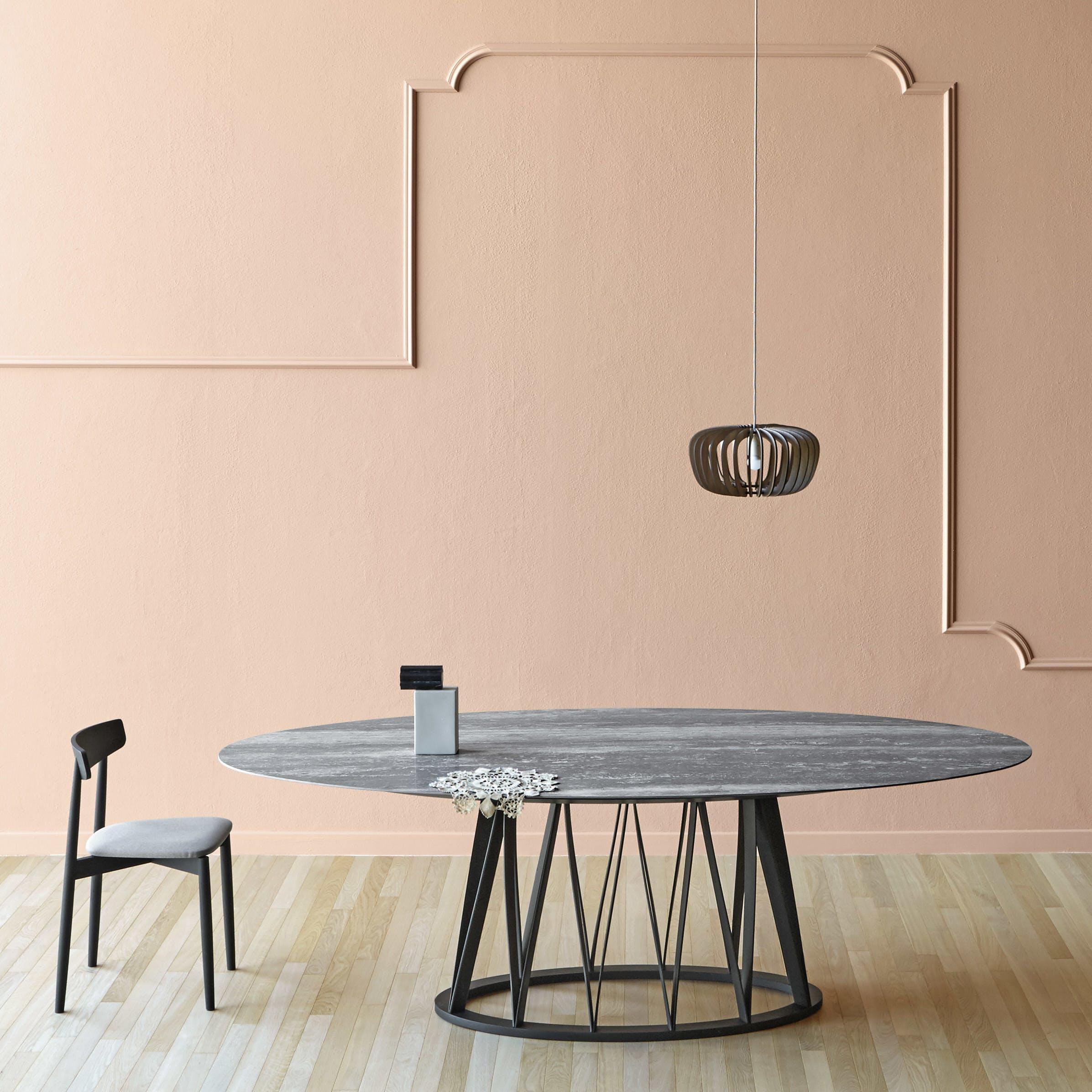 Miniforms Acco Table Black Center Haute Living