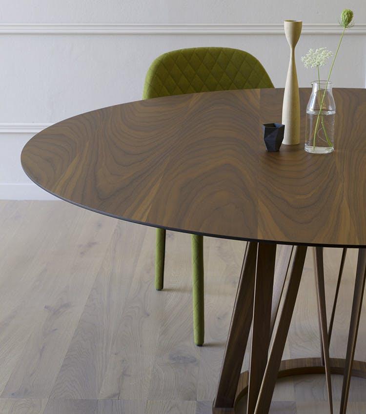 Miniforms Acco Table Green Half Haute Living