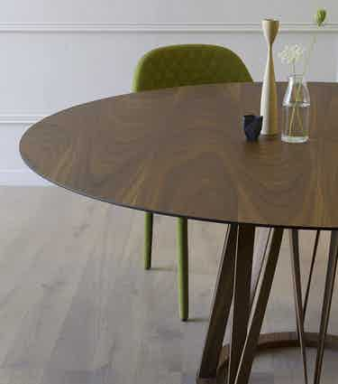 Miniforms Acco Table Green Half Haute Living