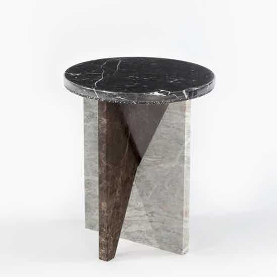 Matter made affordances side table black haute living
