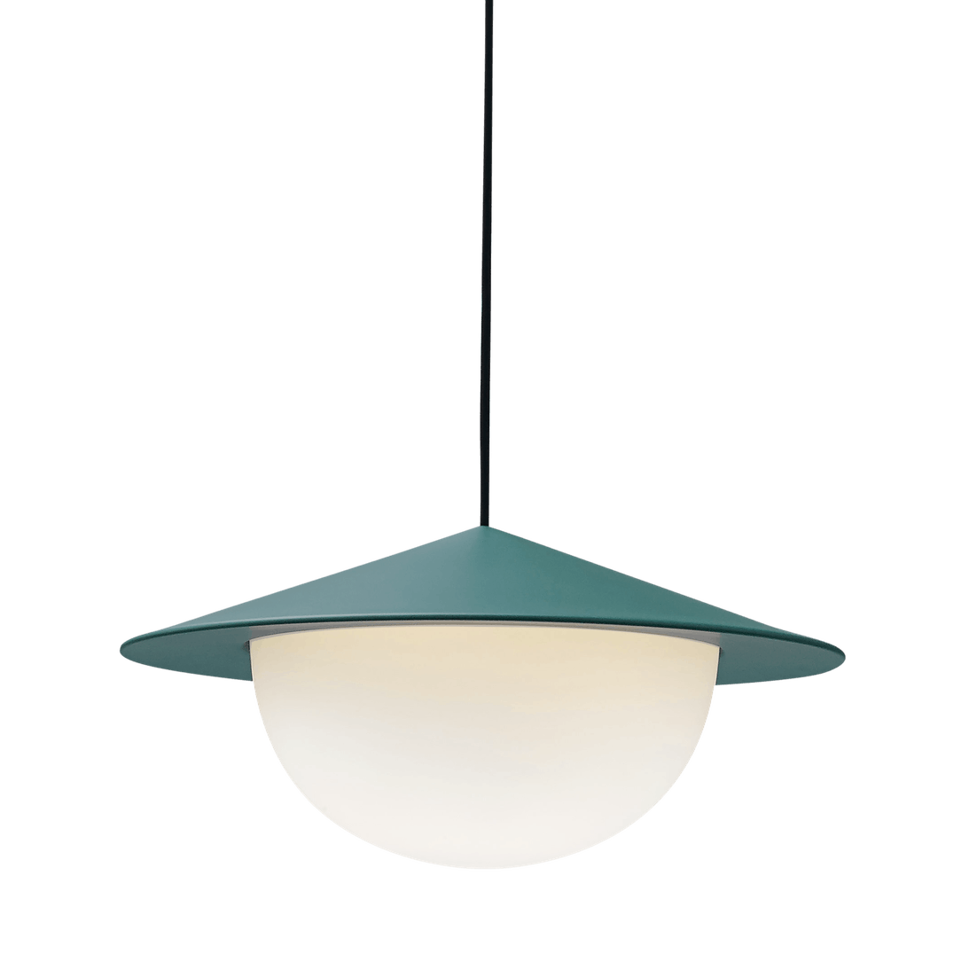Ago lighting alley pendant green haute living