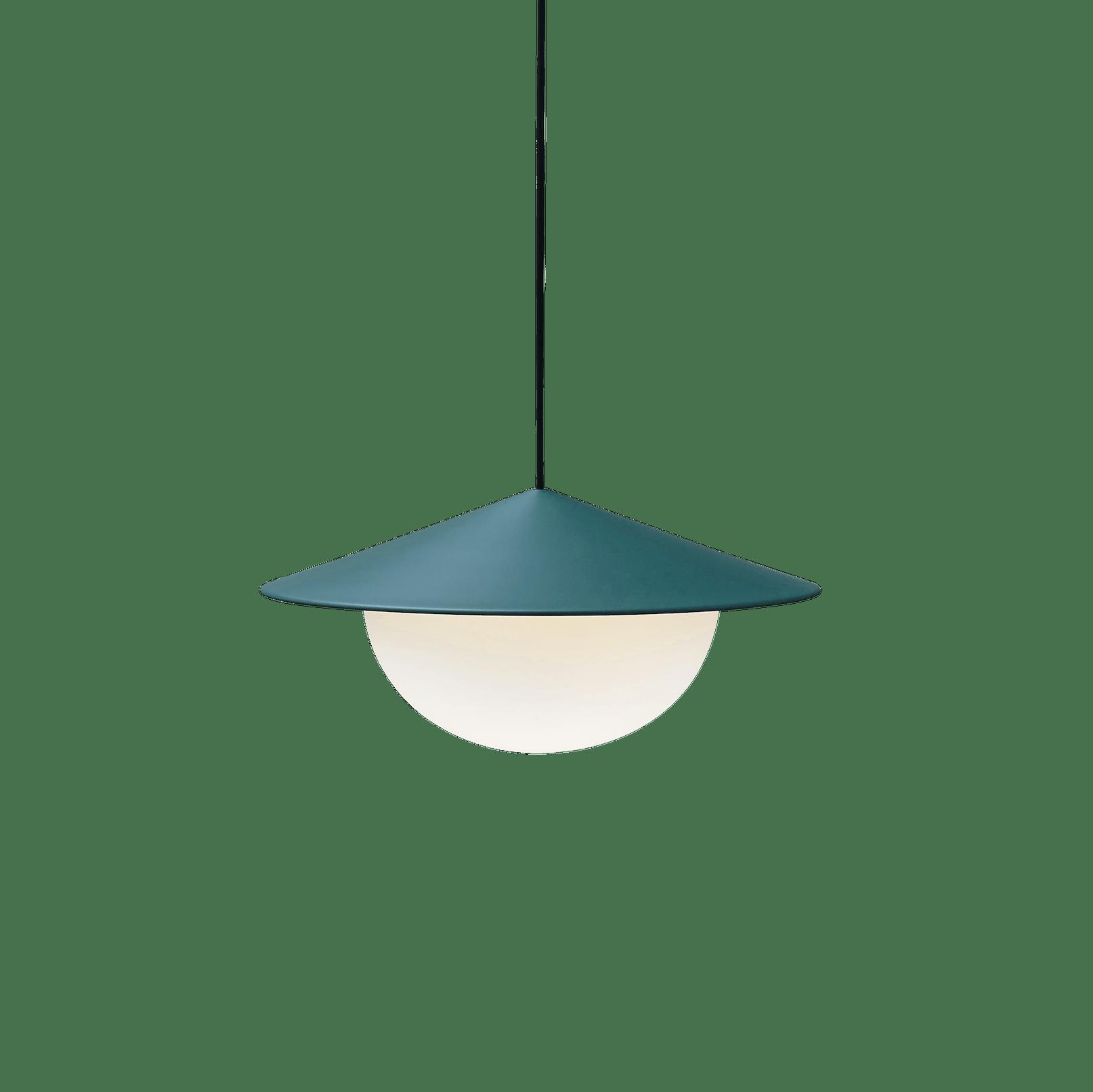 Ago lighting pendant green haute living
