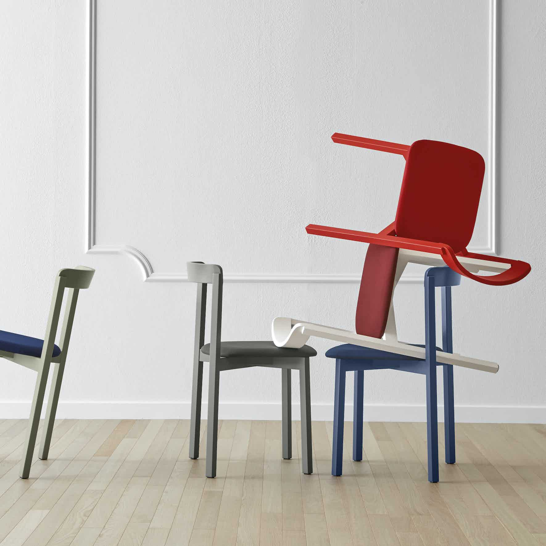 Miniforms Alma Chair Group Stacked Haute Living