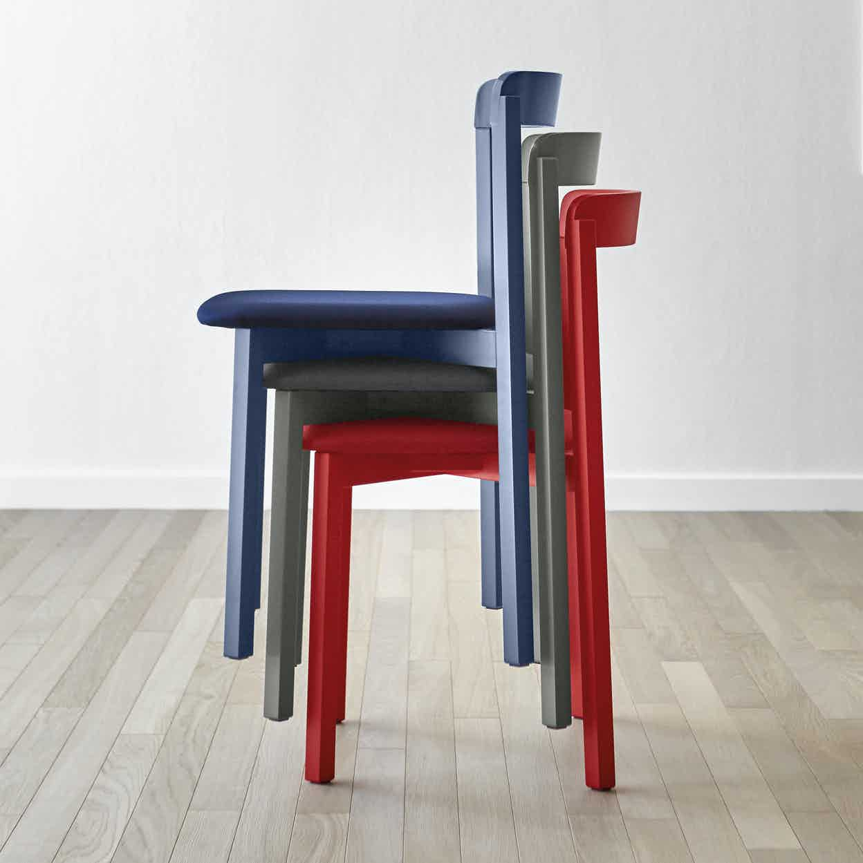 Miniforms Alma Chair Stacked Haute Living