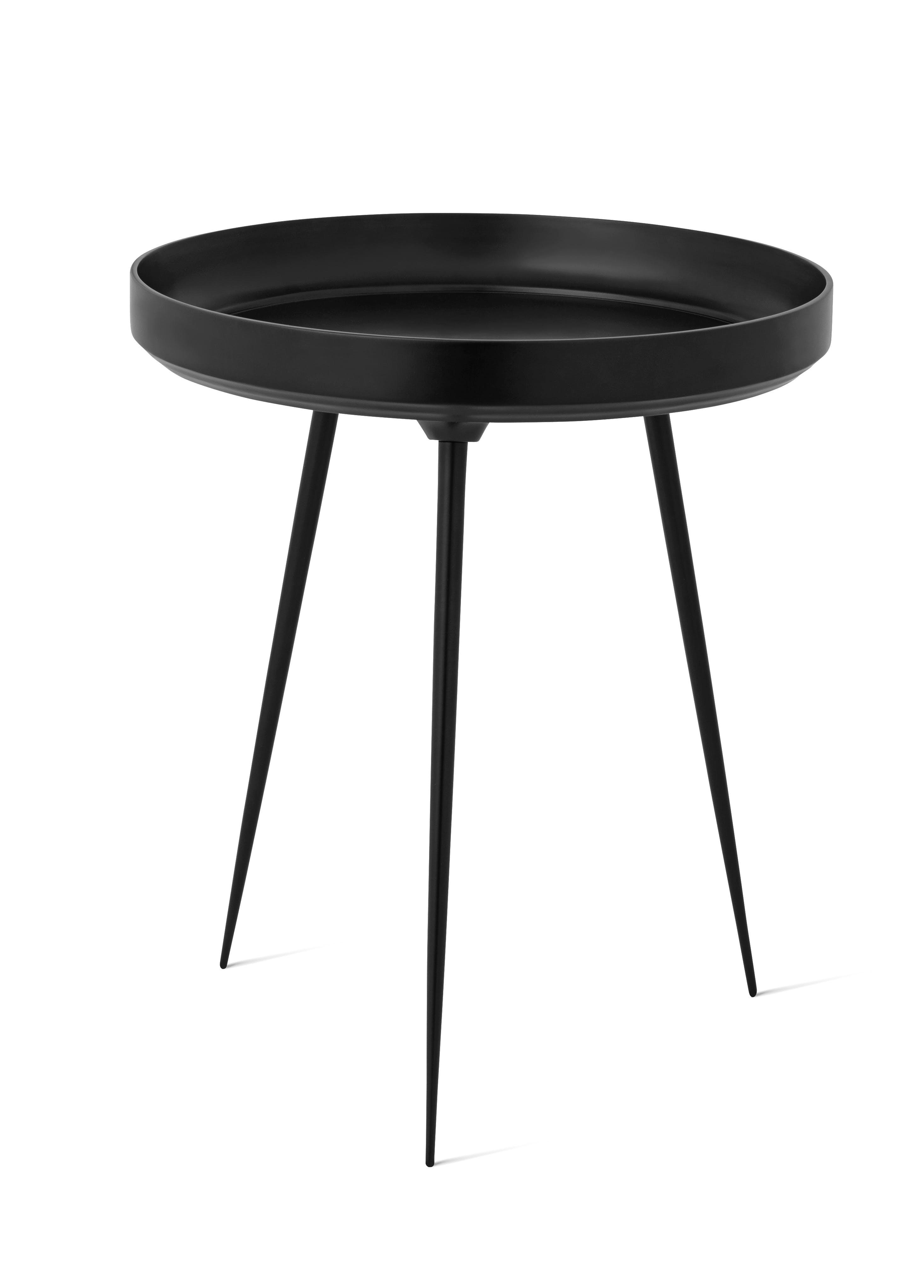 Mater Black Aluminum Bowl Table Haute Living