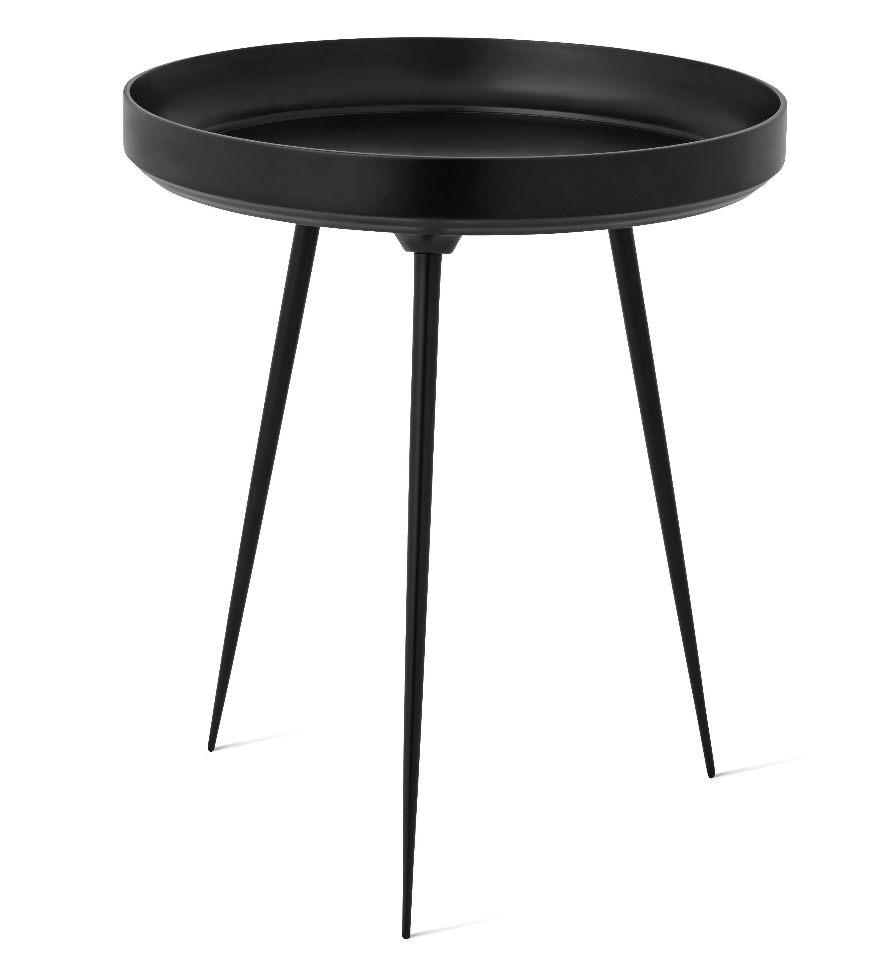 Mater Black Aluminum Bowl Table Haute Living