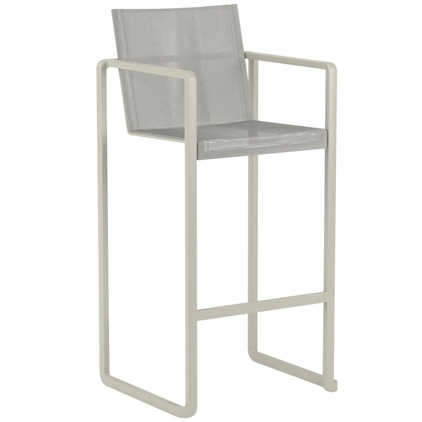 Royal Botania Alura Bar Stool Gray Haute Living