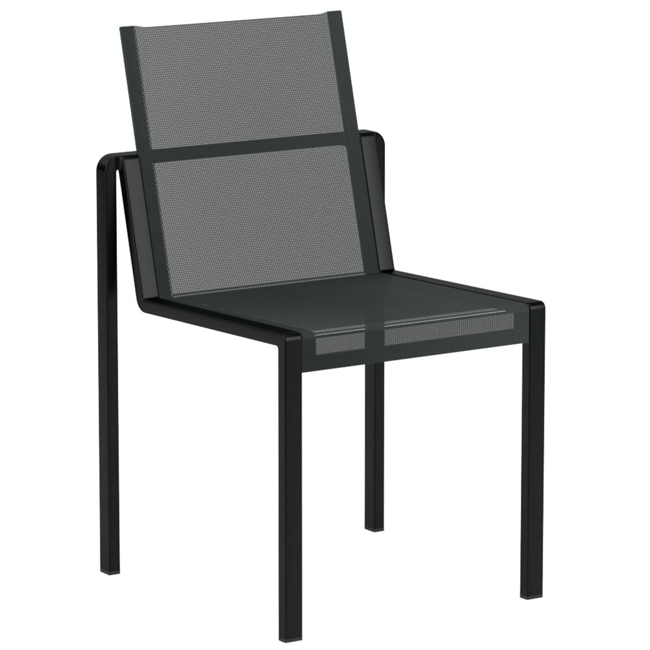 Royal Botania Alura Chair Black Haute Living