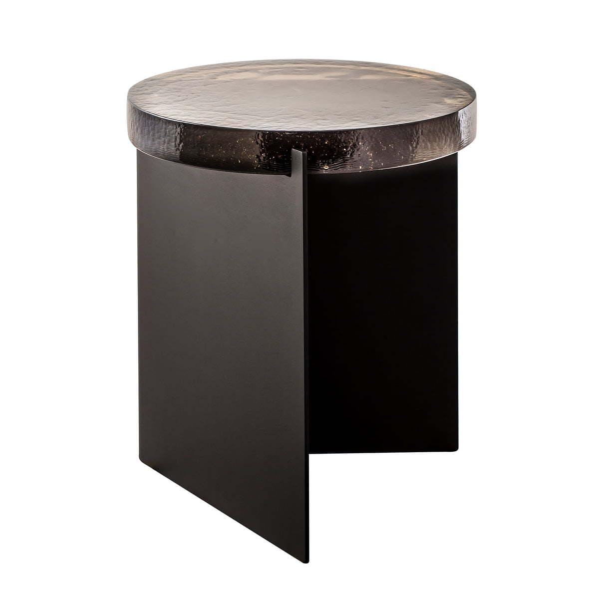 Pulpo Alwa One Tisch H 44X38 Cm Smoky Grey Schwarz Frei