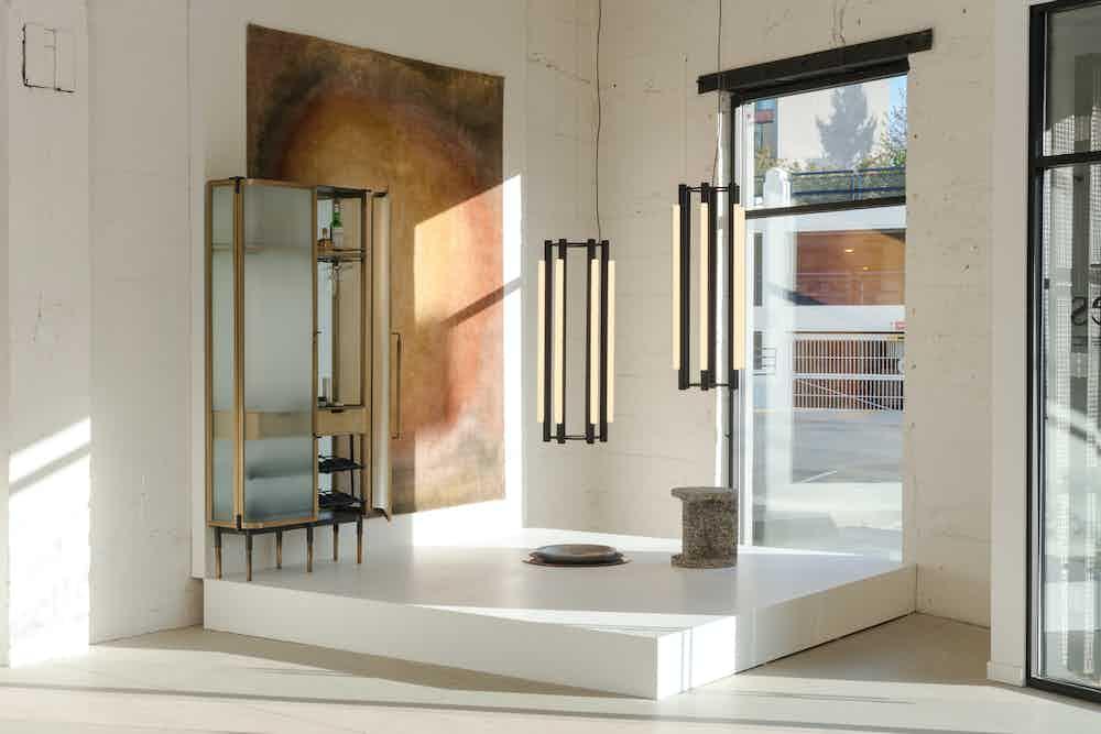 Andlight pipeline chandelier 4 insitu haute living