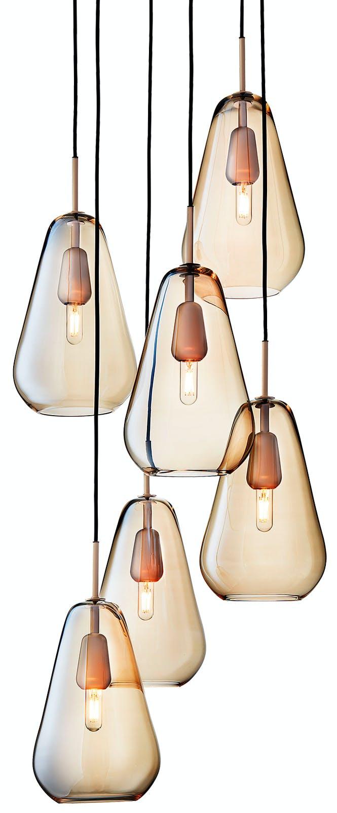nuura anoli 6 chandelier thumb haute living