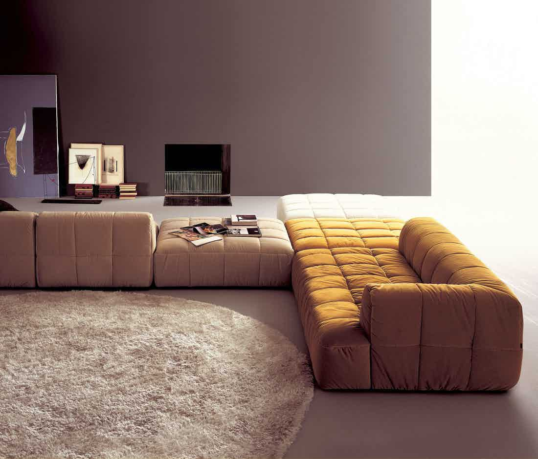 Arflex multicolor strips modular sofa insitu haute living