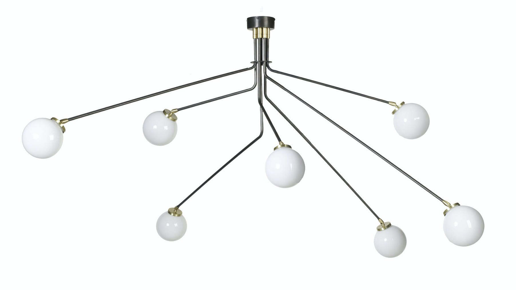 Cto Lighting Array Opal Hanging Haute Living