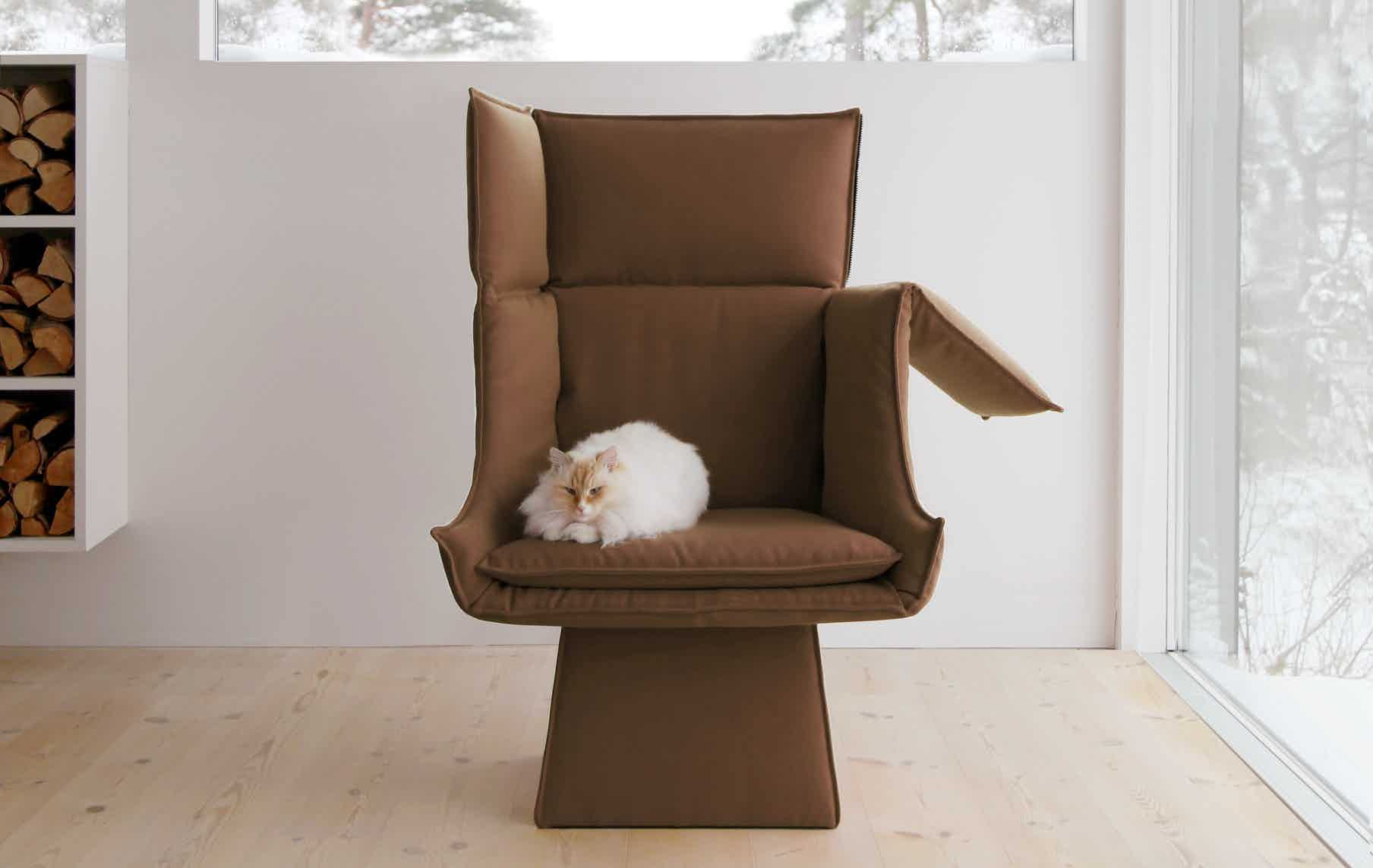 Articles socialclub high back lounge chair cat insitu haute living