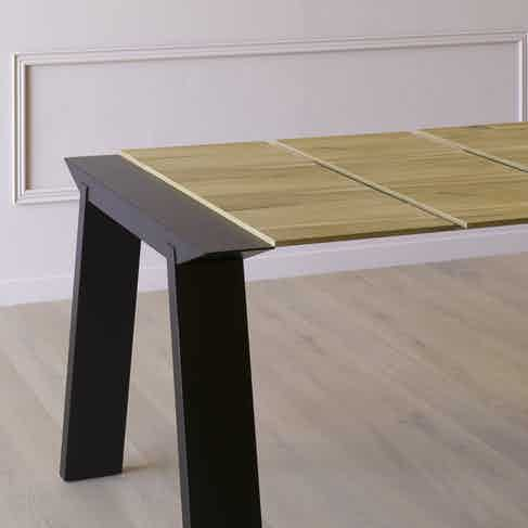 Miniforms Artu Table Black Half Haute Living
