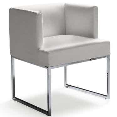 Frigerio Asia Junior Small Armchair Left Side Haute Living