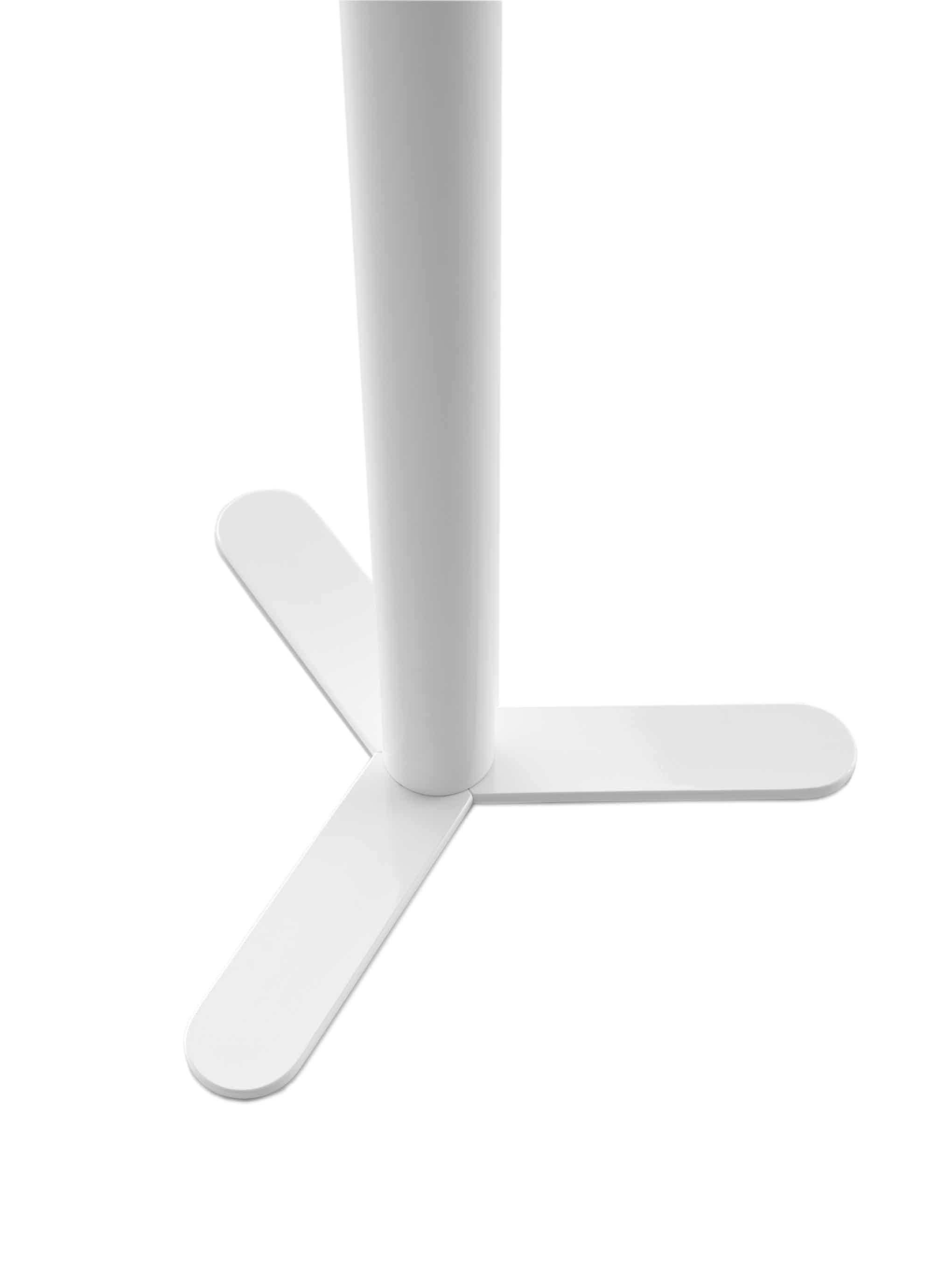Viccarbe-white-leg-detail-aspa-table-haute-living