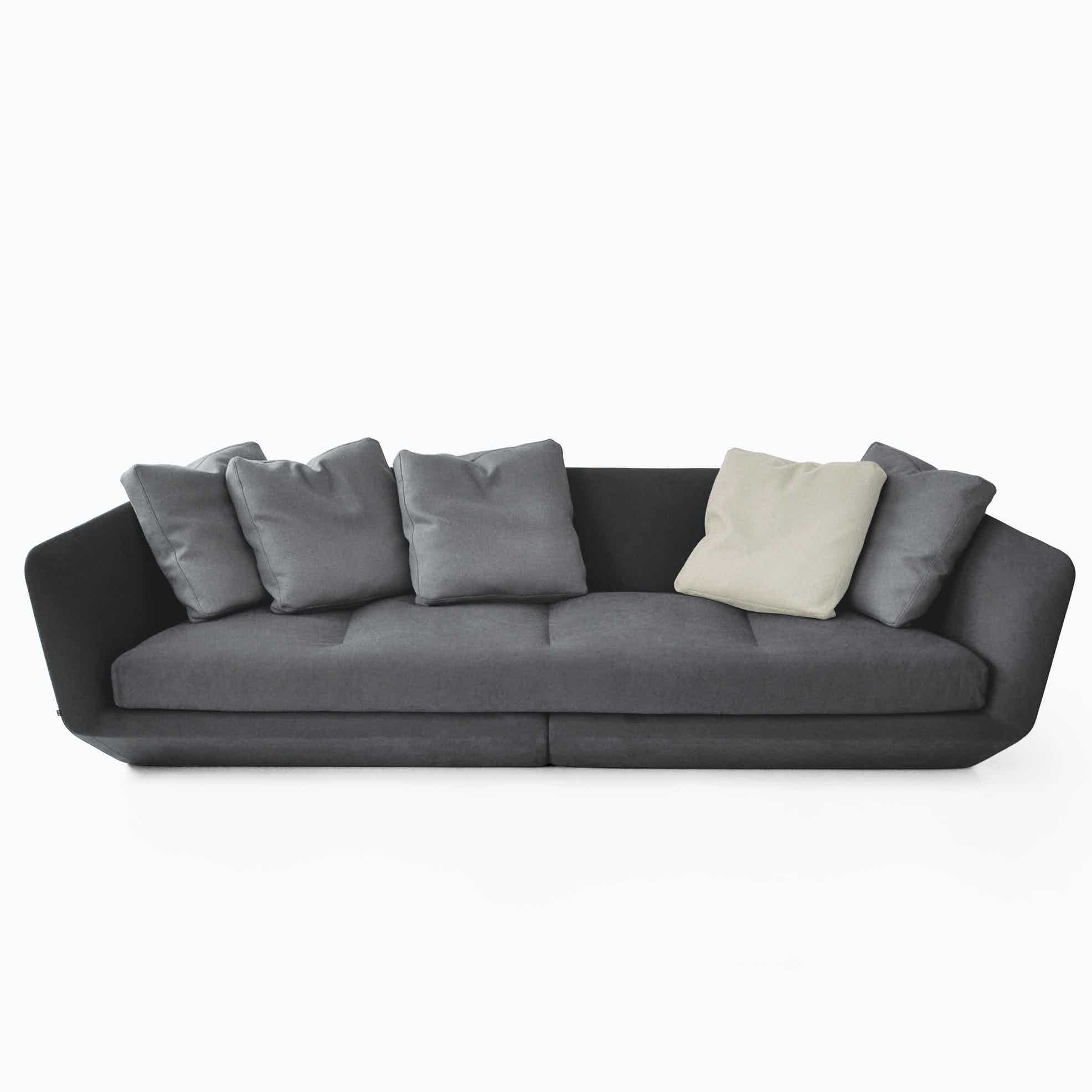 Bensen furniture aura sofa haute living