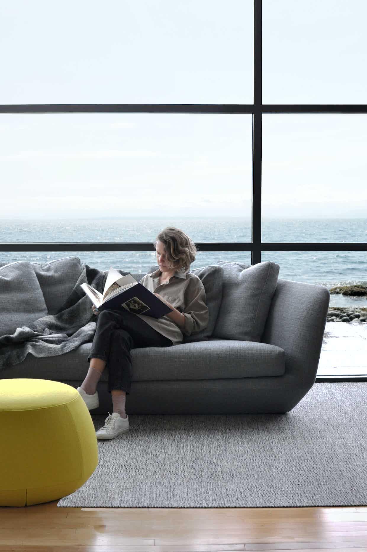 Bensen furniture aura sofa insitu haute living