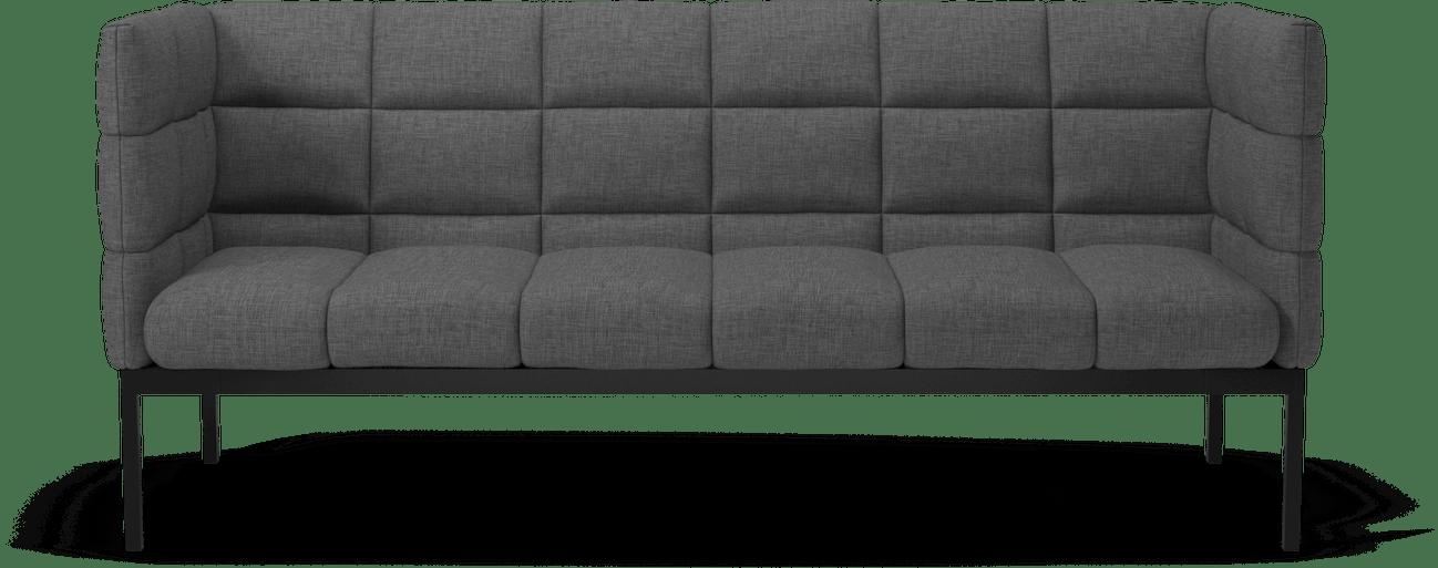 bolia dark grey aura sofa