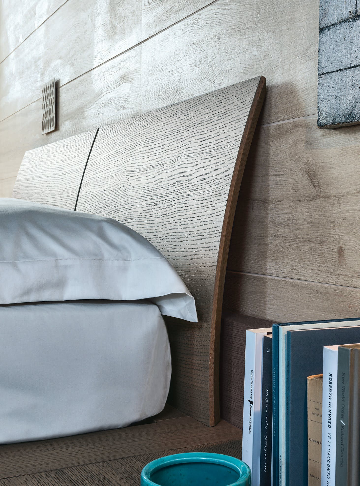 Giellesse Avalon Bed Board Angle Haute Living