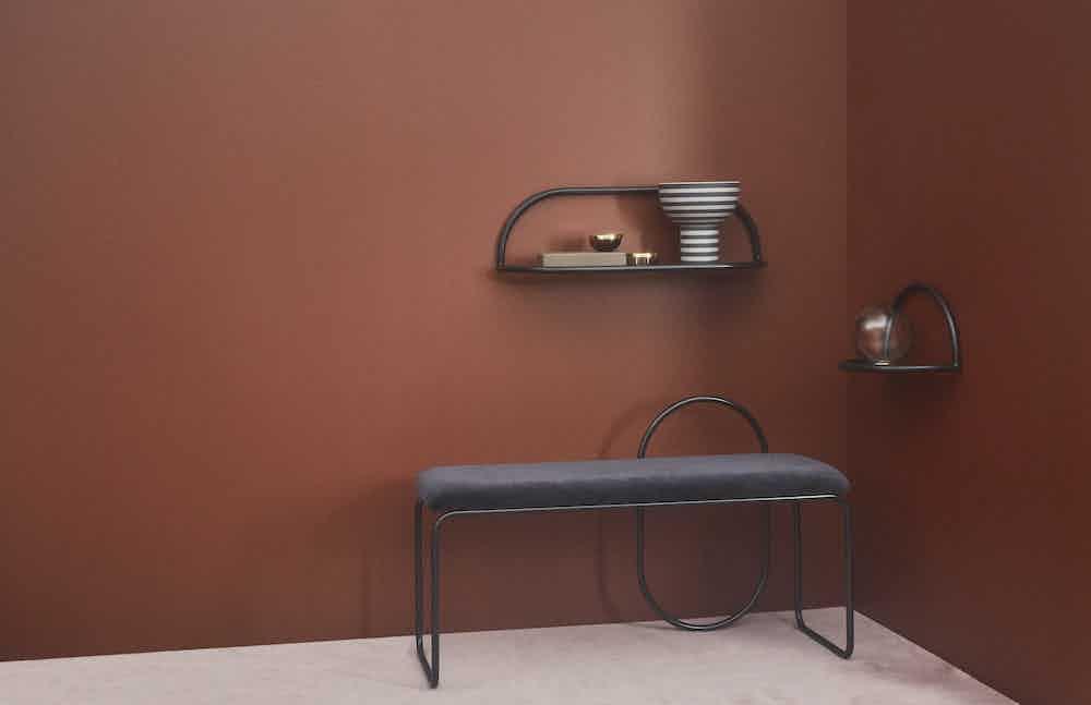 Aytm design angui bench insitu haute living