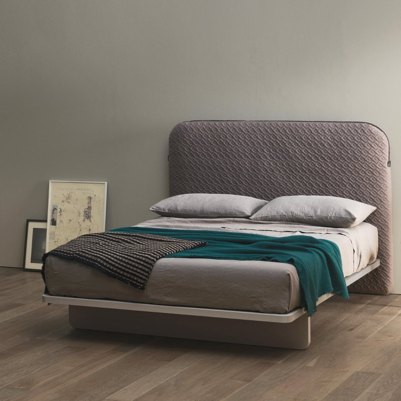 Caccaro Bagtune Bed Angle Haute Living