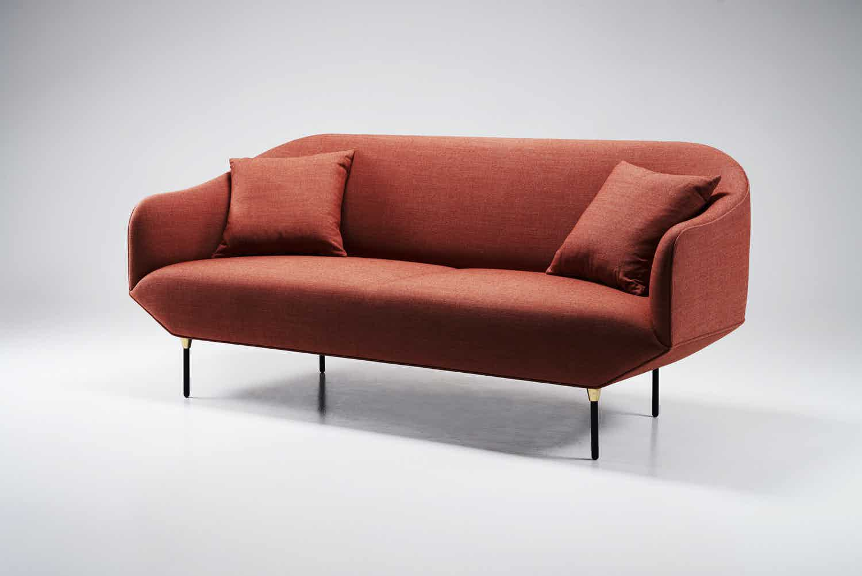 Won angle bale sofa haute living