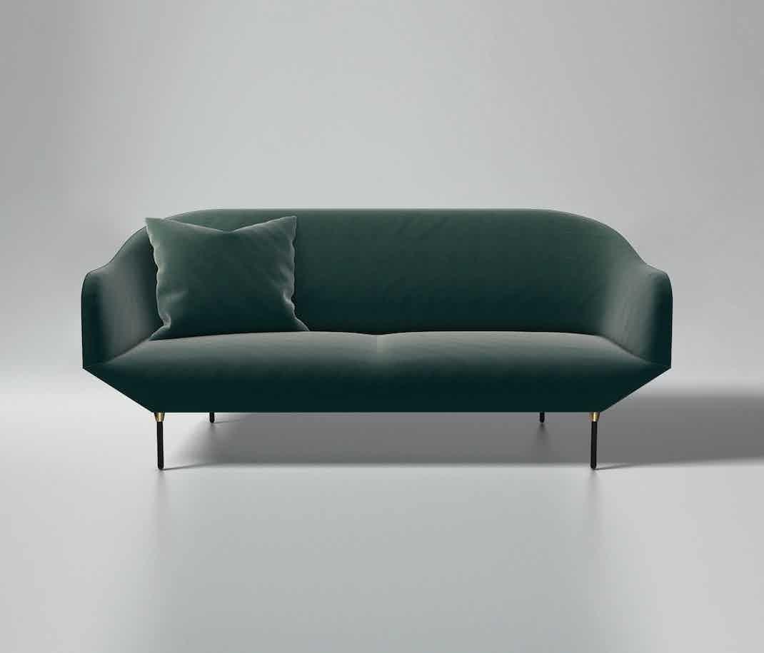 Won Green Bale Sofa Haute Living