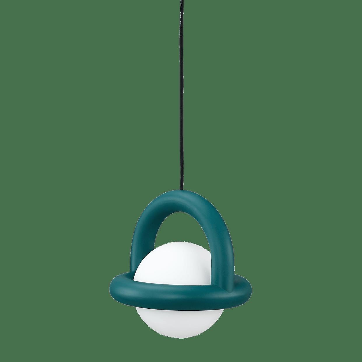 Ago lighting balloon pendant green haute living