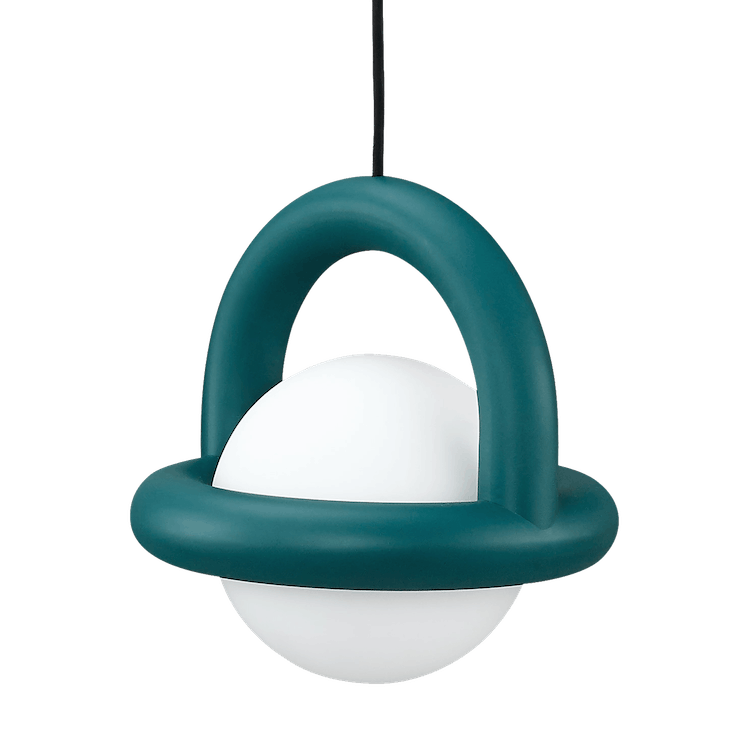 Ago lighting balloon pendant green haute living