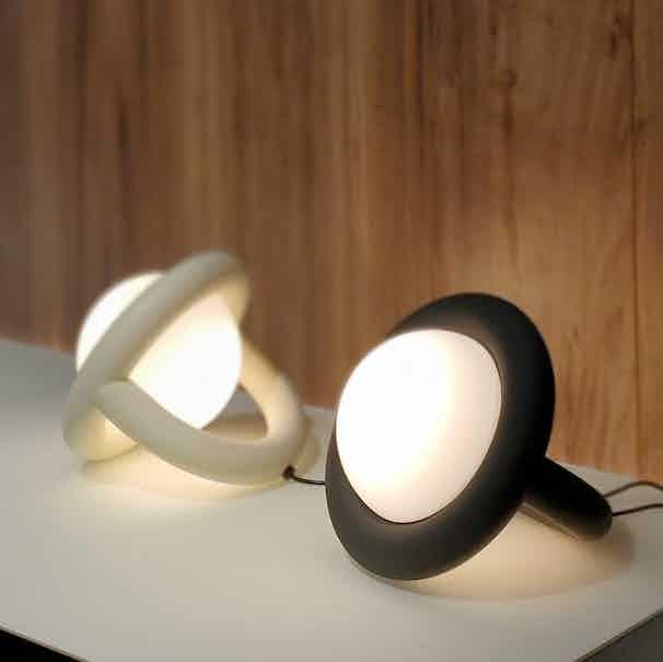 Ago lighting balloon table lamp haute living
