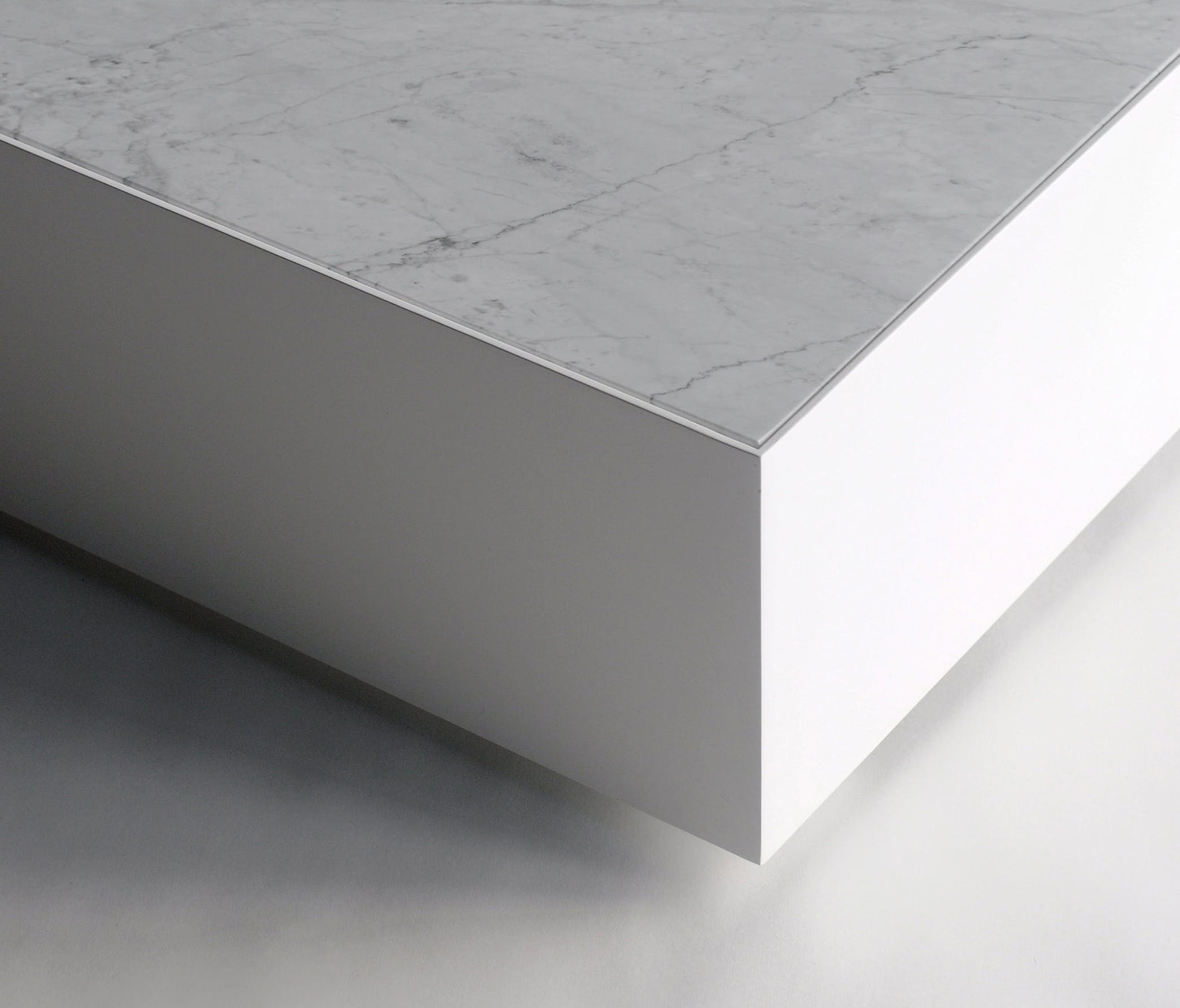 Phase Design Ballot Box Table Marble Detail Haute Living
