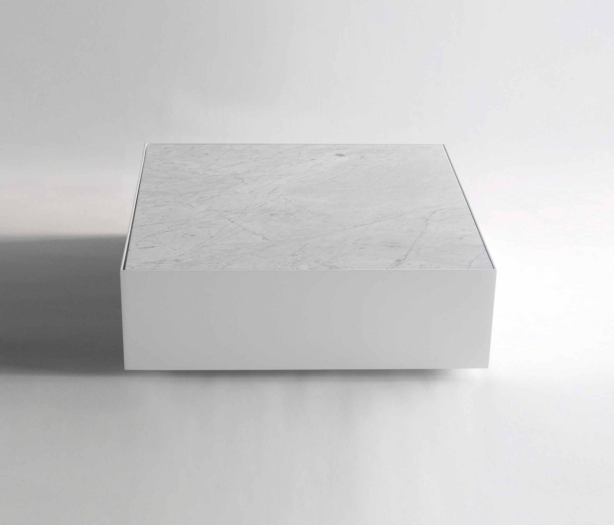 Phase Design Ballot Box Table Marble Front Haute Living