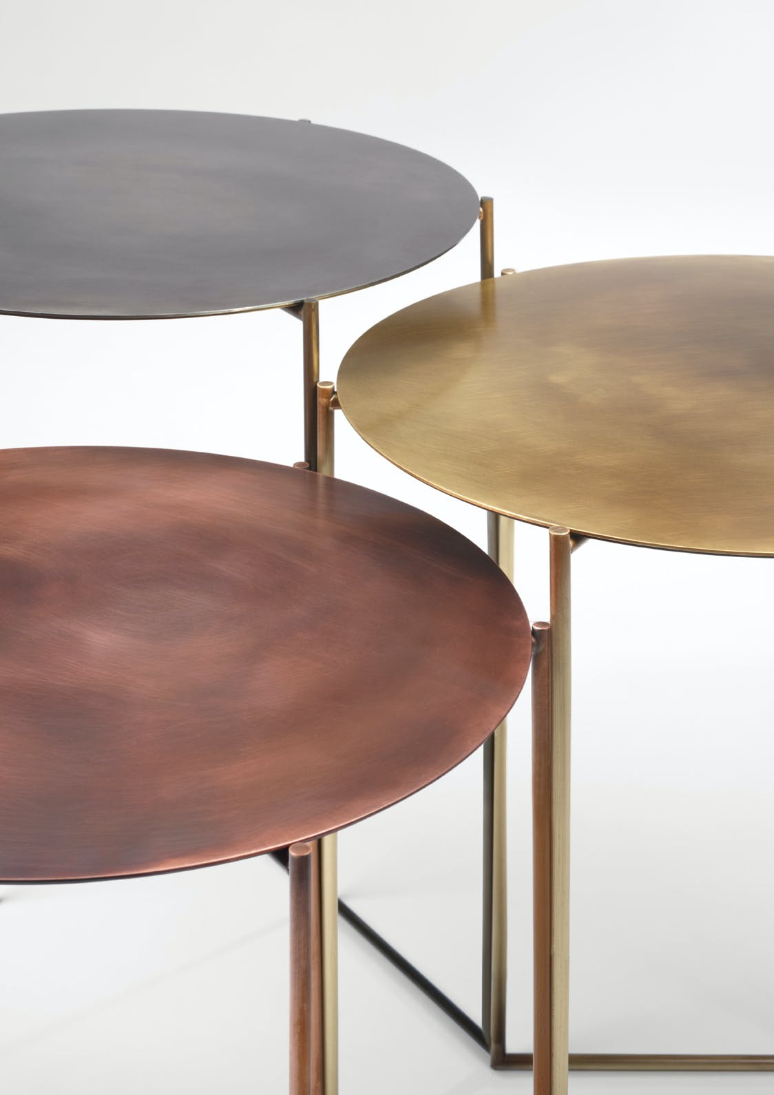 De Castelli Band Tables Trio Detail Haute Living