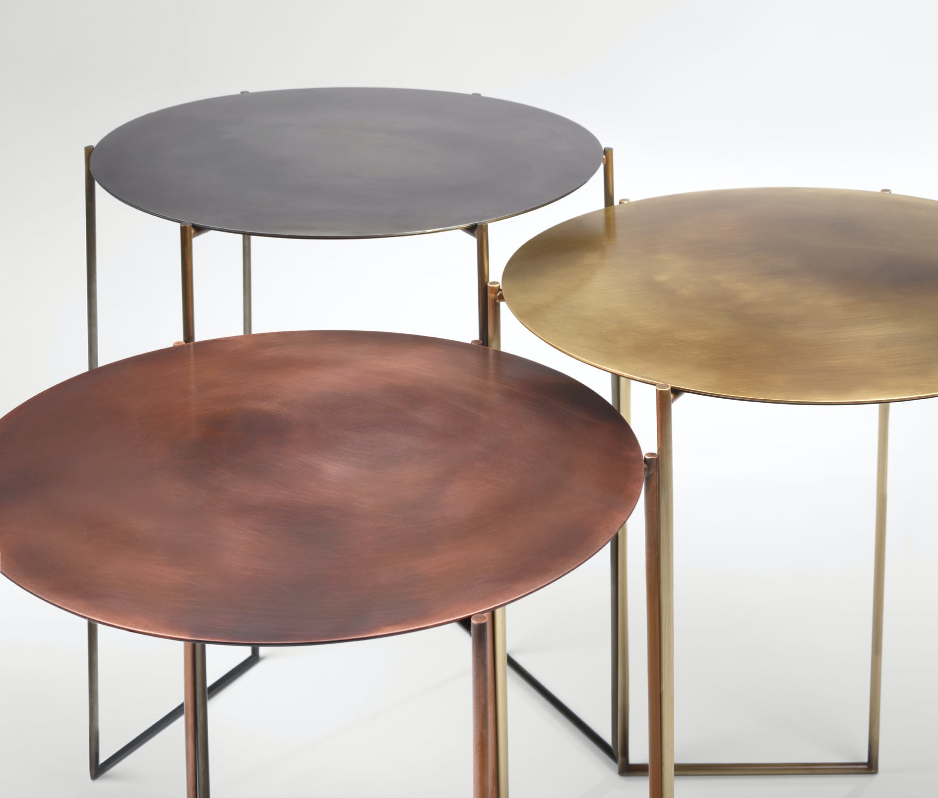 De Castelli Band Tables Trio Detail2 Haute Living