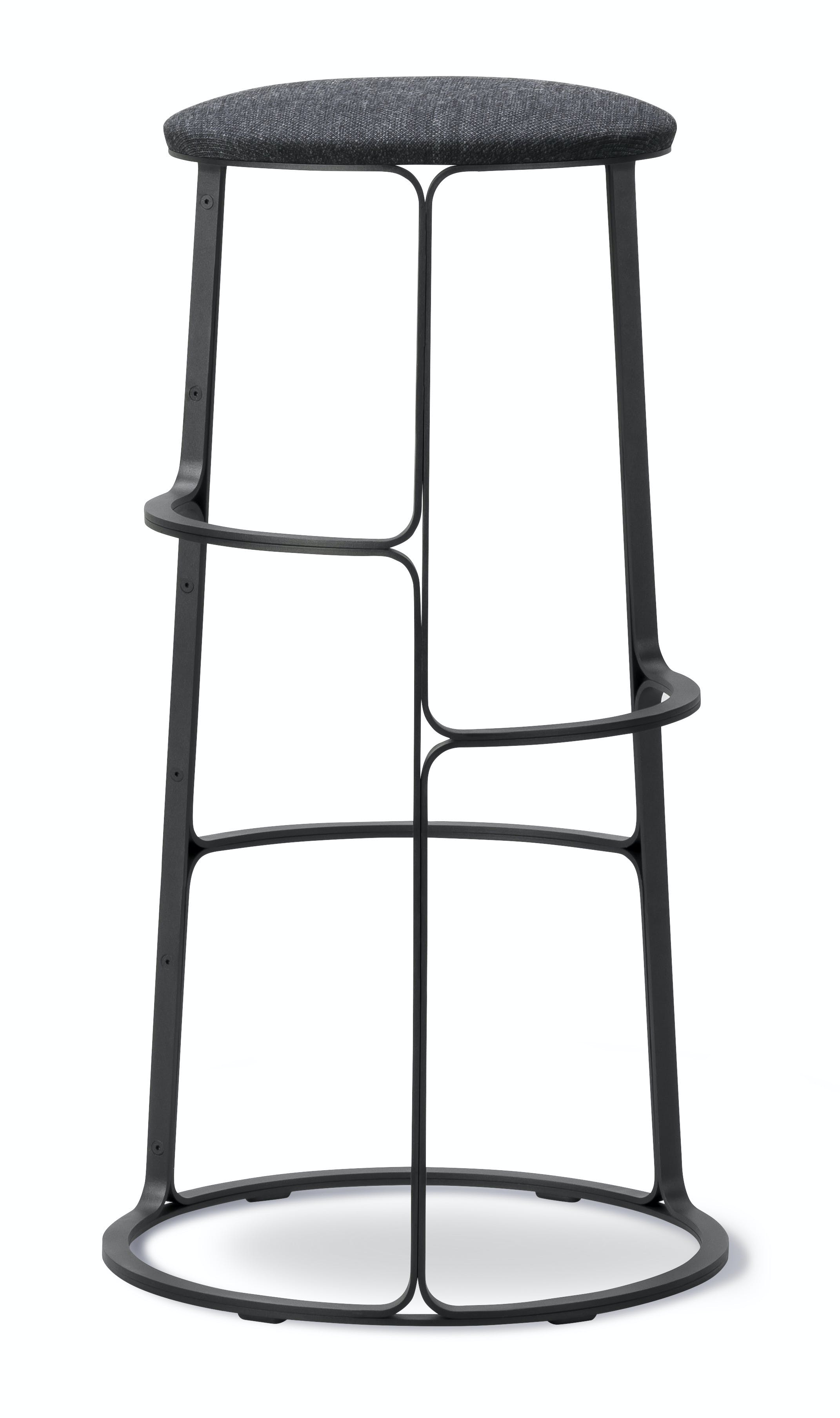 Fredericia Furniture Barbry Stool Grey Haute Living