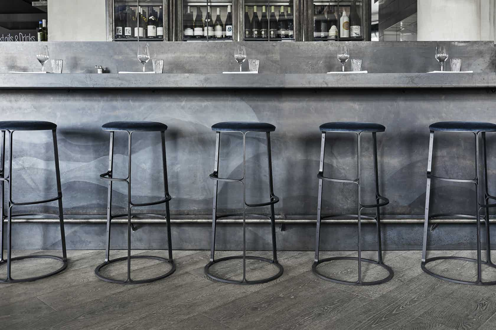 Fredericia Furniture Barbry Stool Insitu Haute Living