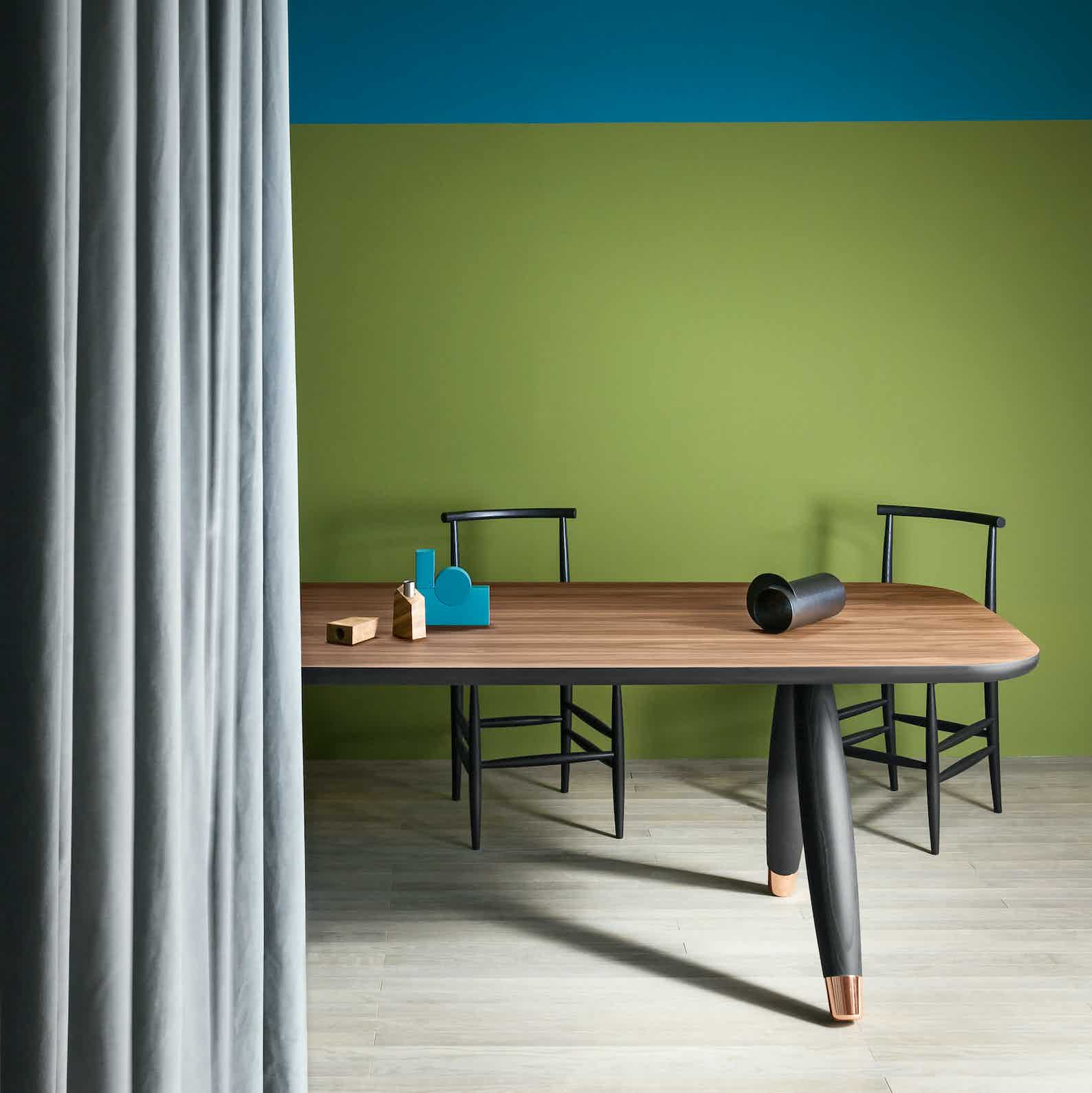 Miniforms Basilio Table Black Haute Living