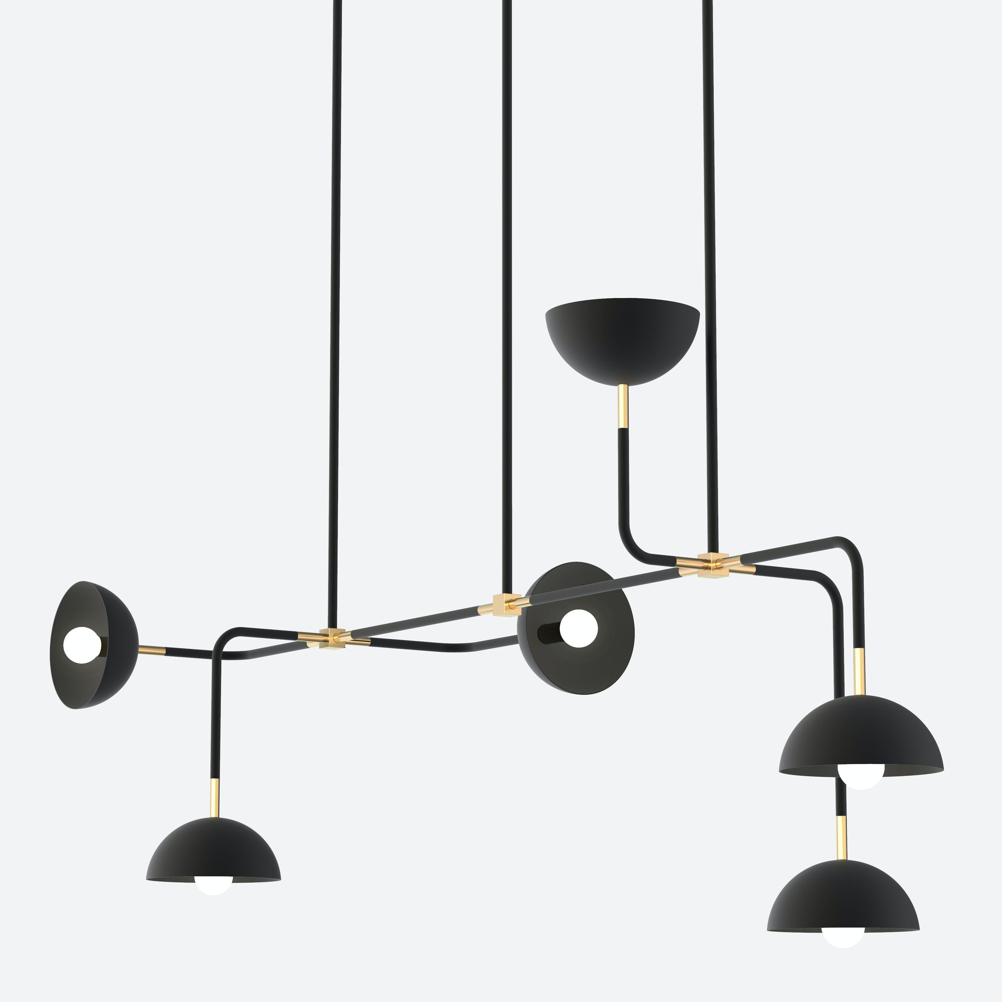 lambert & fils beaubien 08 hanging chandelier haute living