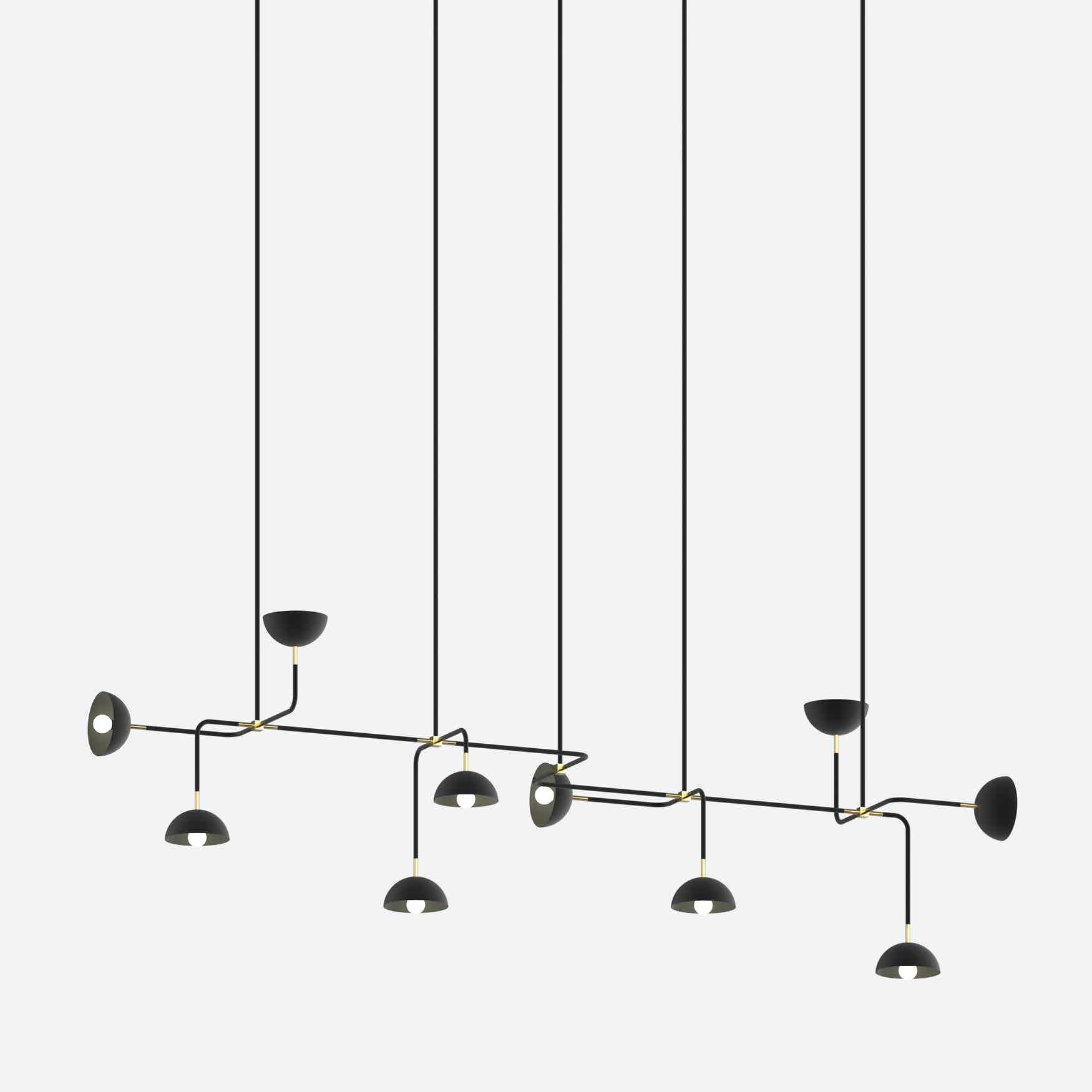 lambert & fils beaubien 10 hanging light haute living