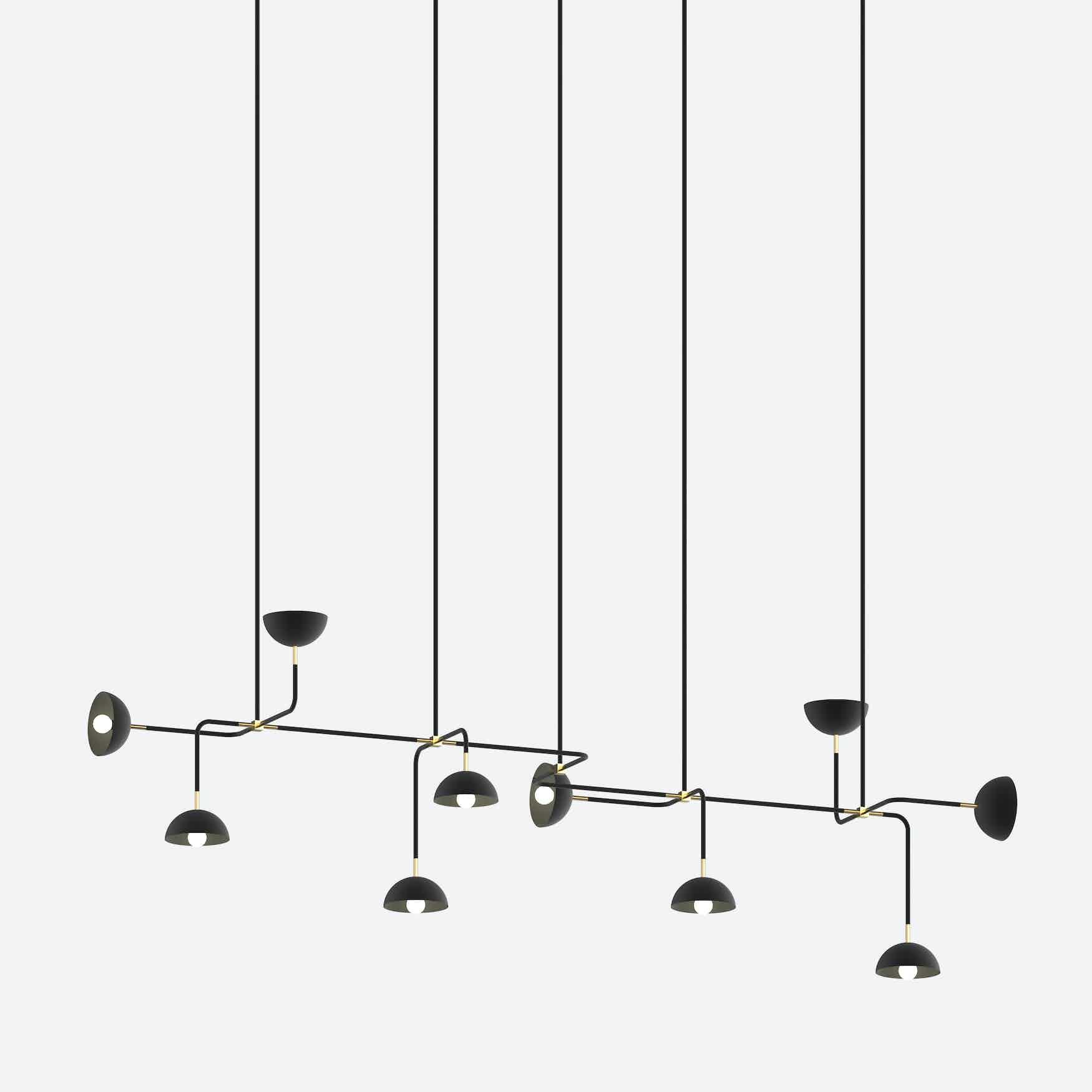 lambert & fils beaubien 10 hanging light haute living