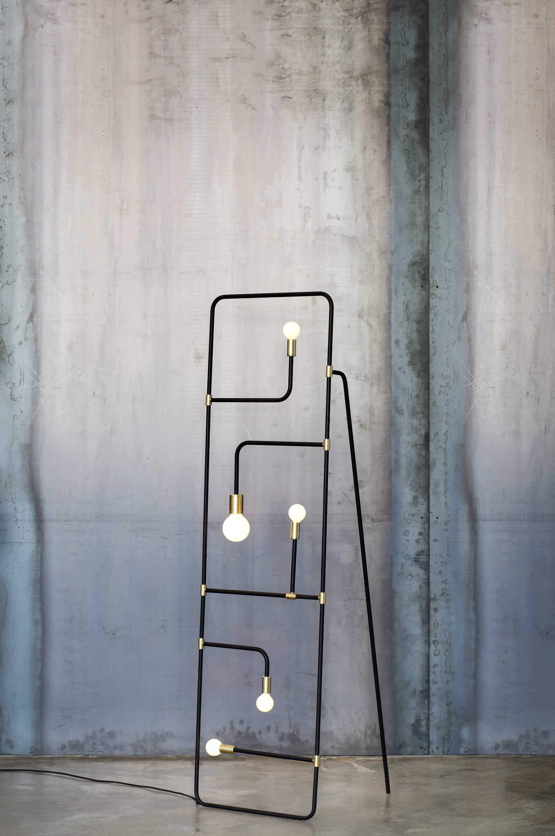 lambert & fils beaubien floor lamp haute living