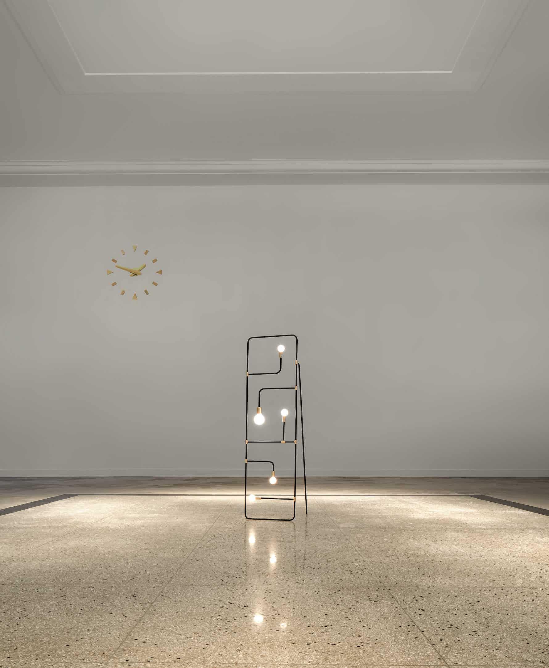 lambert & fils beaubien floor lamp insitu haute living