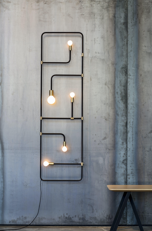lambert et fils beaubien hanging wall light insitu haute living