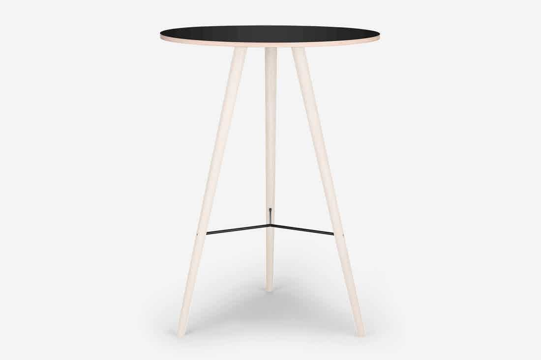 Bolia beaver bar table black laminate haute living