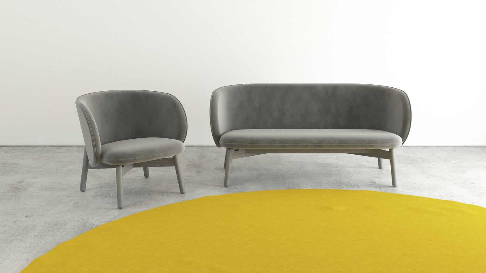 Beech club sofa by dum furniture at haute living